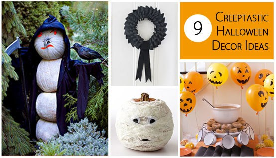 9 Creeptastic Halloween Decor Ideas :: Mint.com/blog