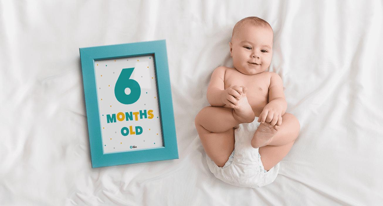 Baby Age Tracker Mockup