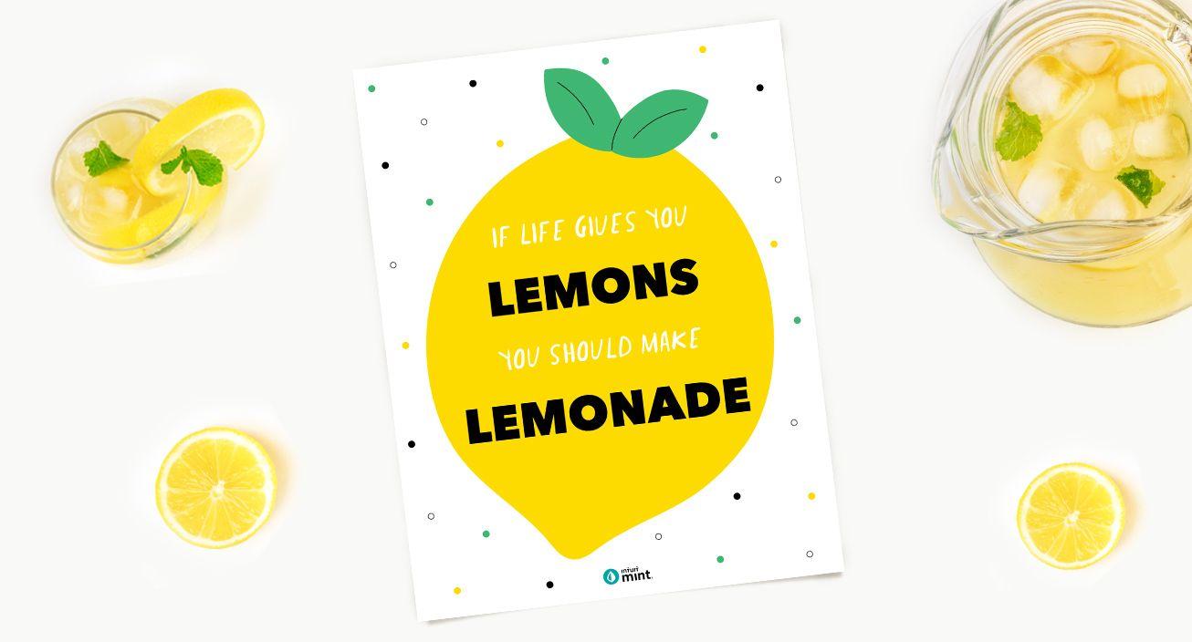 Lemonade Stand Printable Mockup