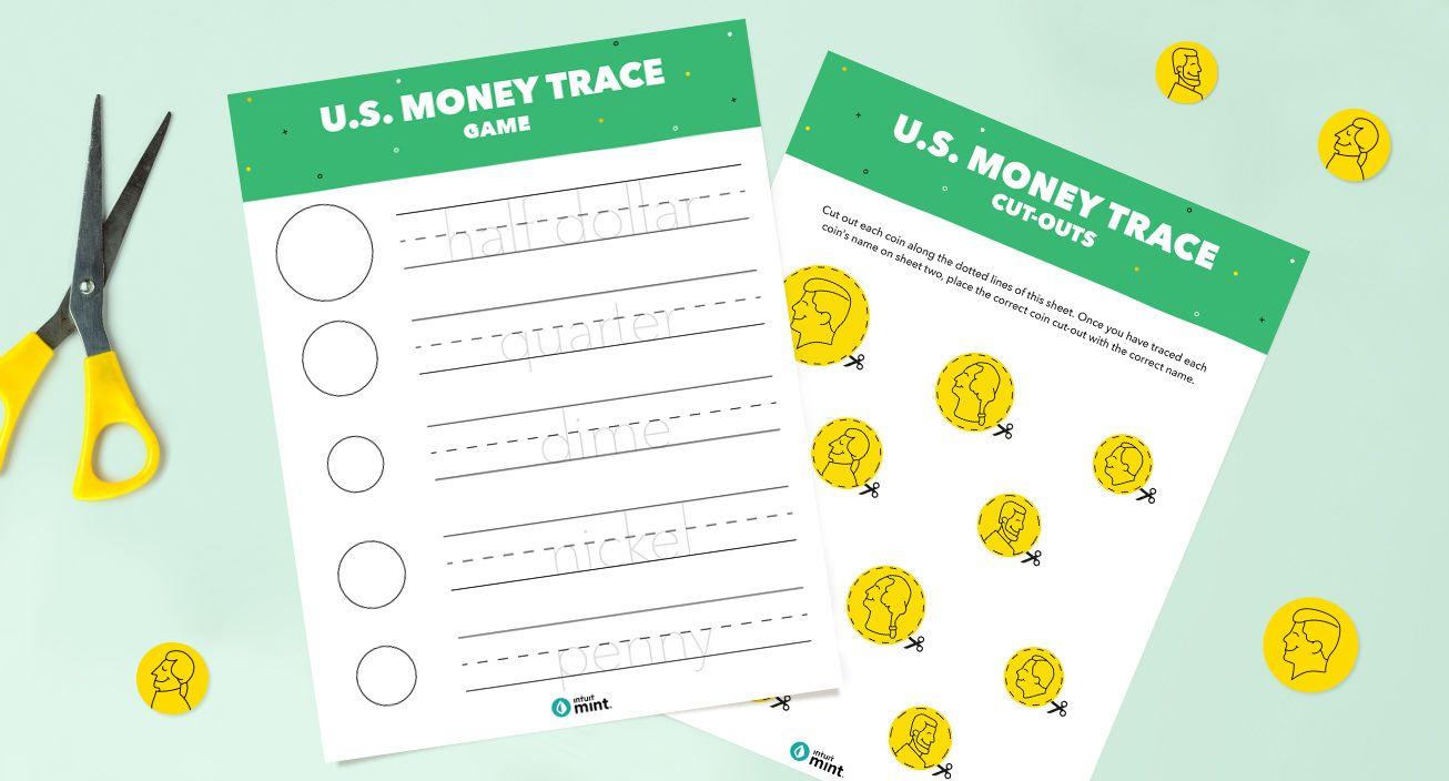 Money Trace Printable Mockup