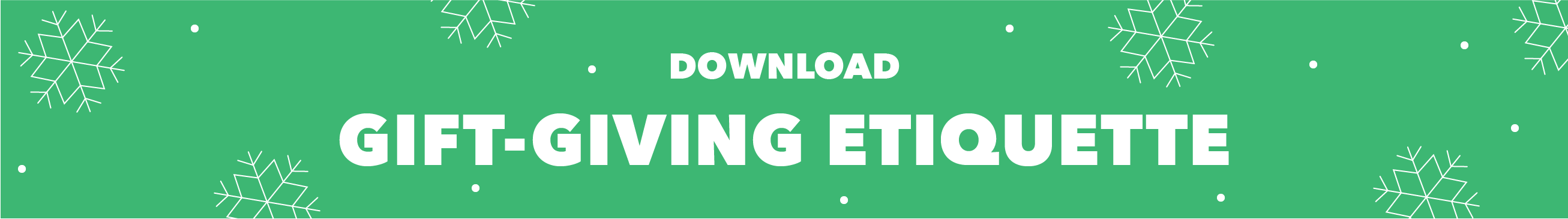 Holiday gift-giving download button