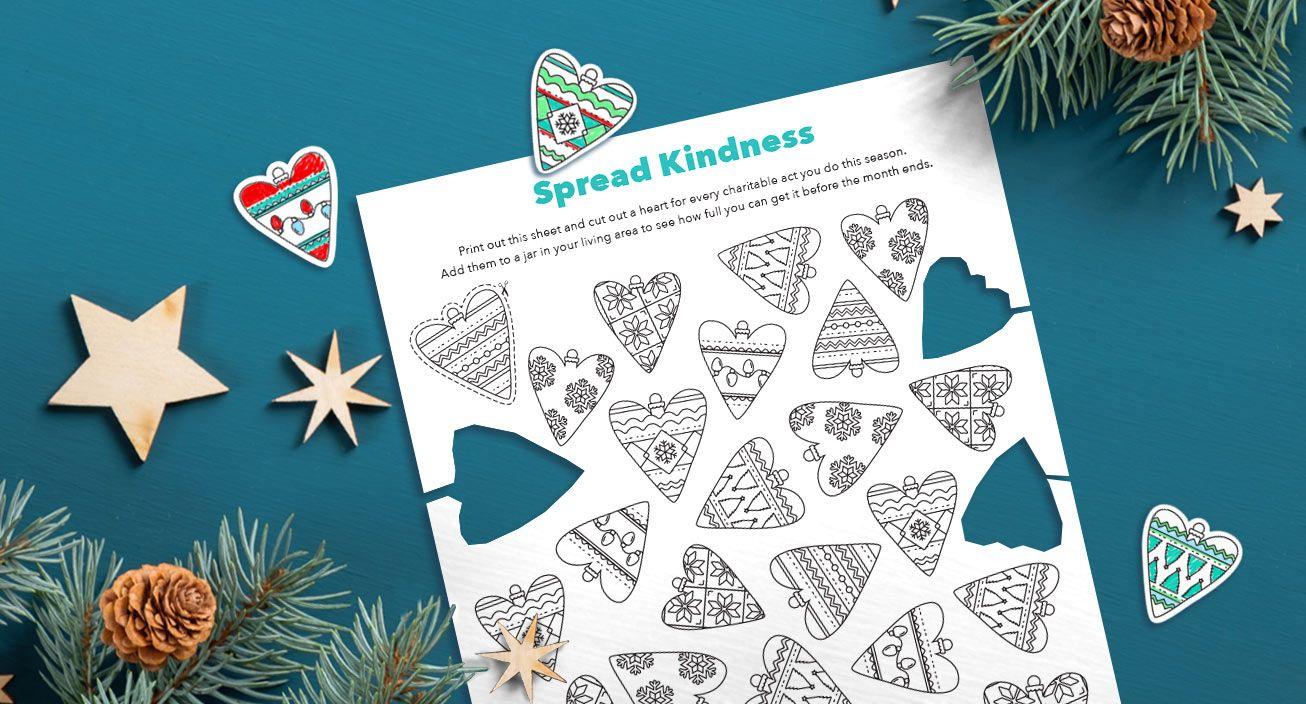 Printable - Spread kindness