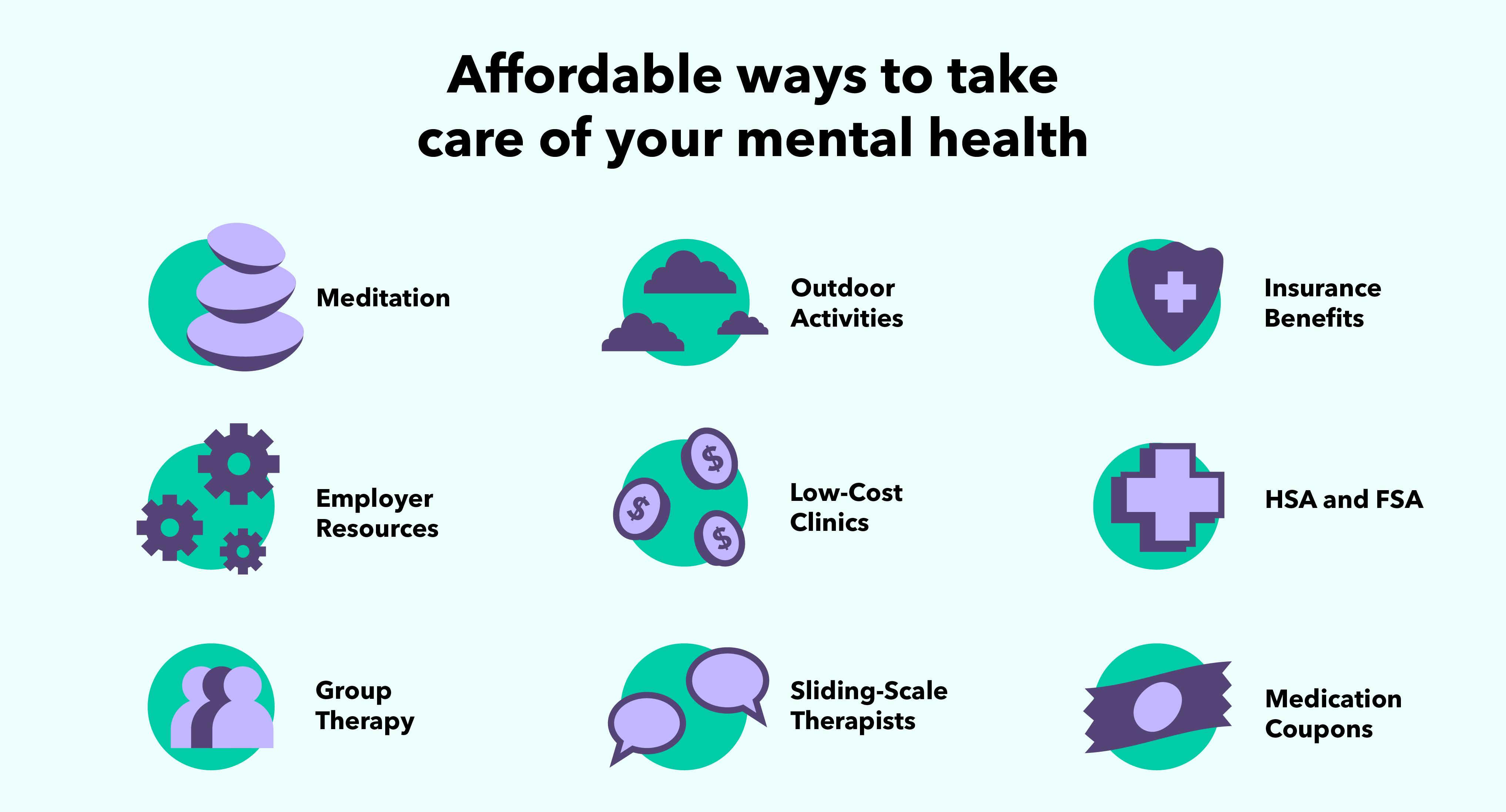 9 façons abordables de prendre soin de votre santé mentale